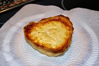 receta de quiché de jamón y queso