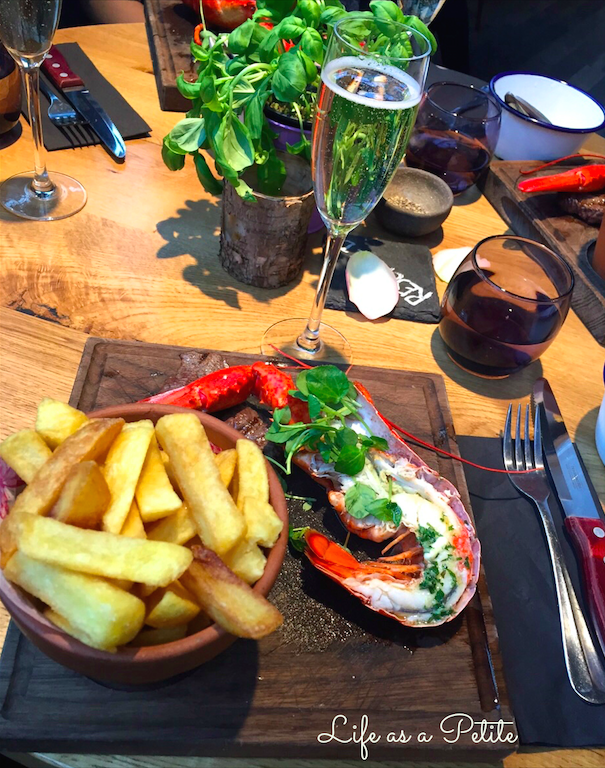 The Fable - Steak, lobster & bubbles £16 per person Review by Life as a Petite