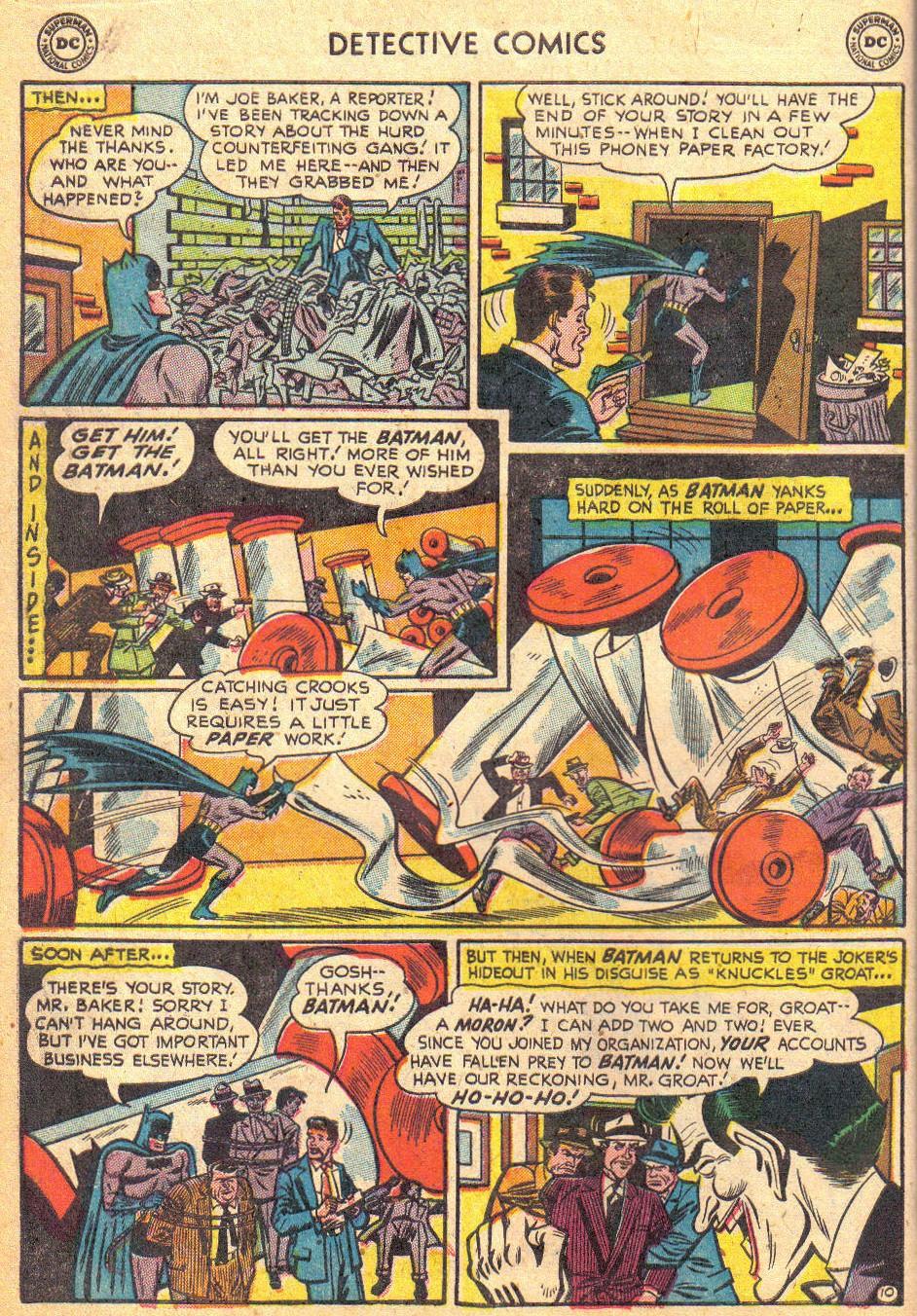 Detective Comics (1937) 193 Page 11