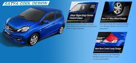Brosur Mobil Honda Brio Satya