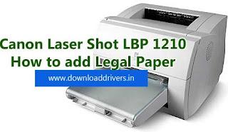 Драйвера на принтер canon lbp 1210 для windows 7