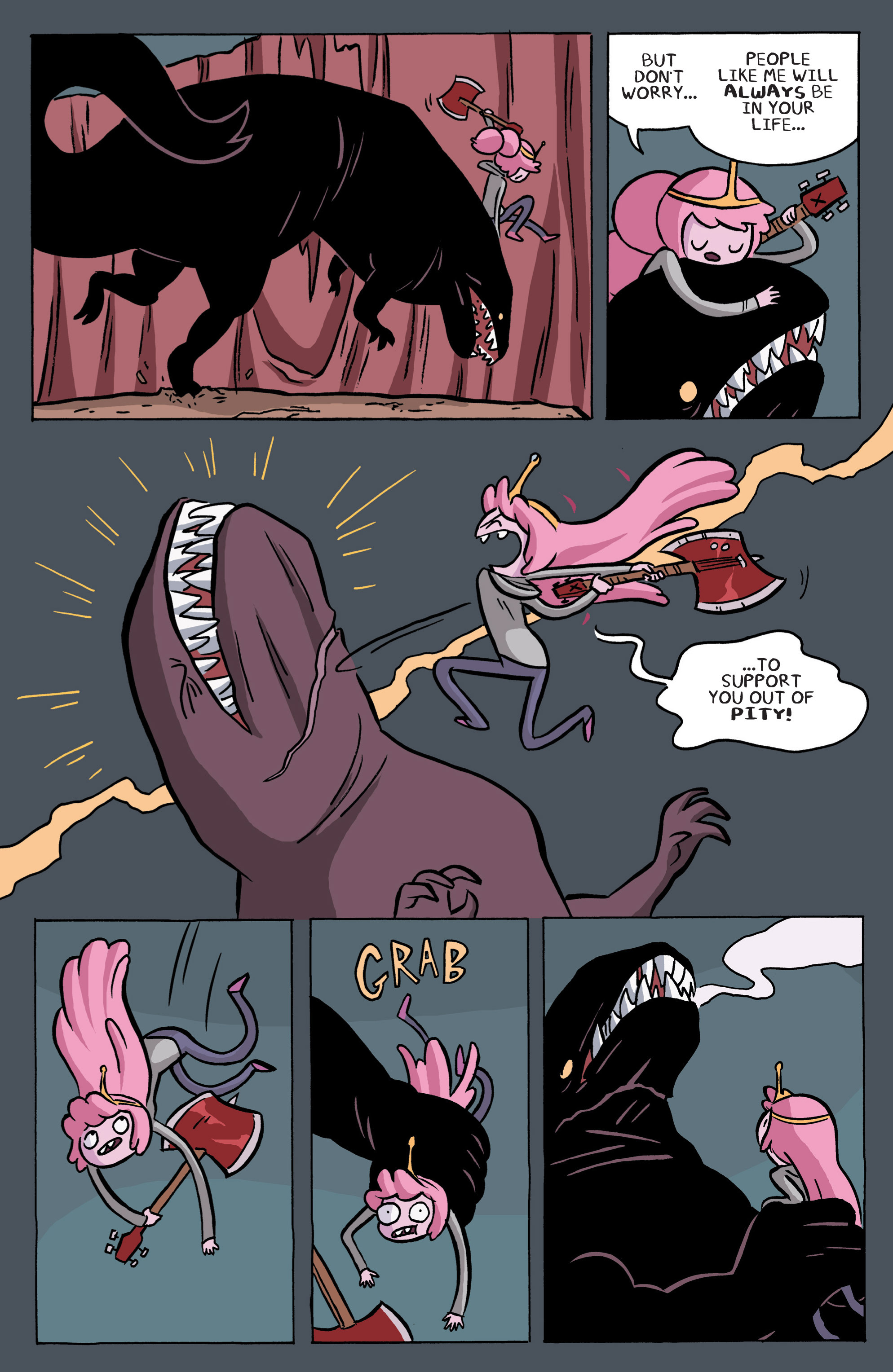 Read online Adventure Time: Marceline and the Scream Queens comic -  Issue #6 - 15