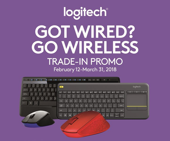 Go Wireless through Logitech's Trade-in, Trade-up Promo