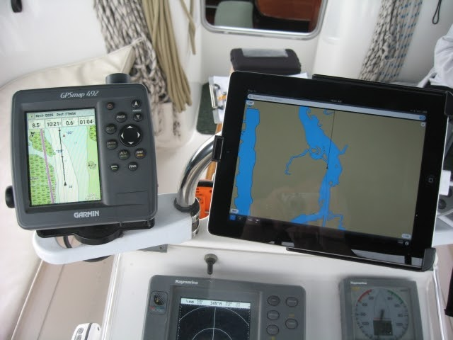 Cruising Down The Icw 2018 Apple Ipad On A Boat
