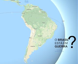 O Brasil está em guerra?