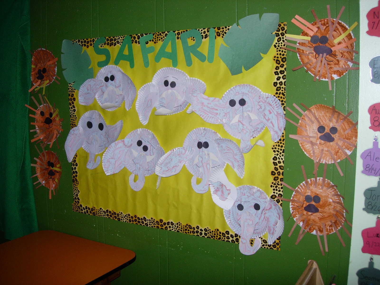 The Early Preschool Classroom Theme Of The Week Safari And Jungle