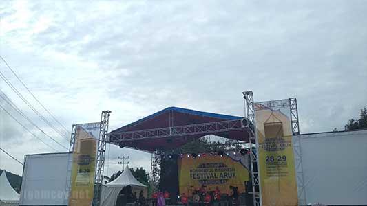 Festival aruk 2018 di sajingan