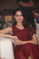 Pragya Jaiswal in Stunnign Deep neck Designer Maroon Dress at Nakshatram music launch ~ CelebesNext Celebrities Galleries 141.JPG