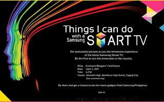 Samsung SMART TV invite
