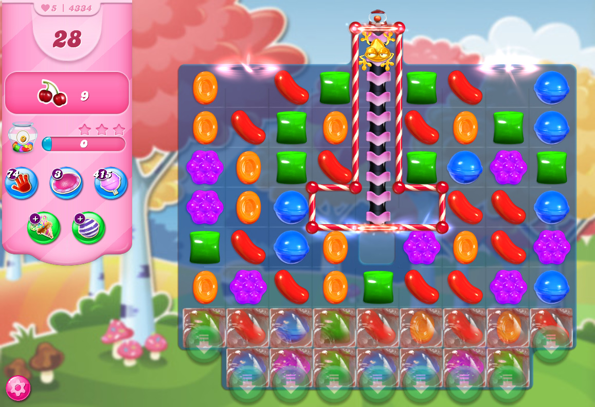 Candy Crush Saga level 4334