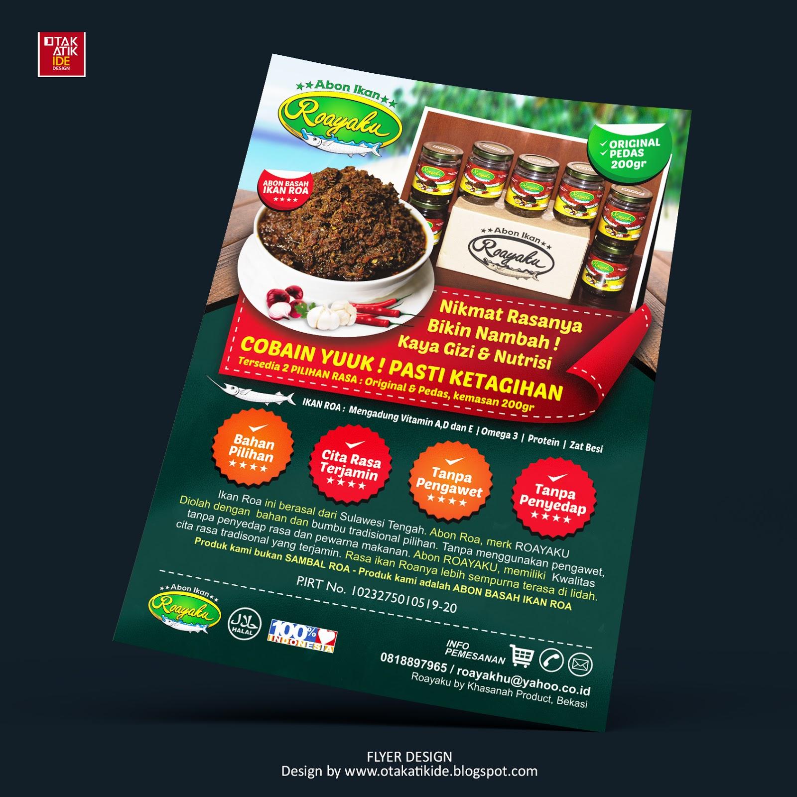 Jasa Desain Brosur Promosi Otakatikide Jasa Desain Logo Jasa Desain Branding Kemasan Desain Promosi Ukm