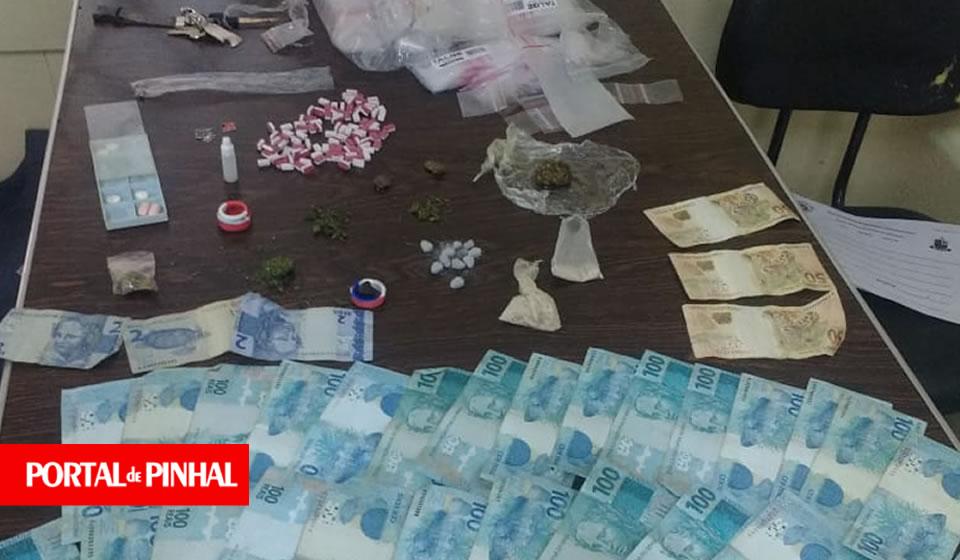 PM prende jovem com grande quantidade de drogas sintéticas em Pinhal