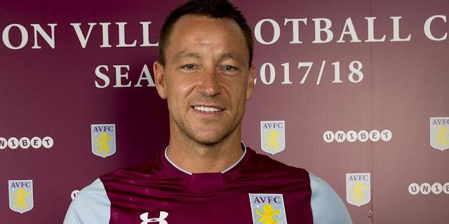 Aston Villa : Kehadiran John Terry Sangat Berarti Buat Kami Semua
