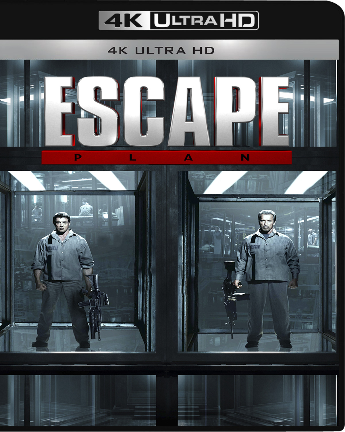 Escape Plan [2013] [UHD] [2160p] [Latino]