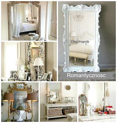romantyczne lustro