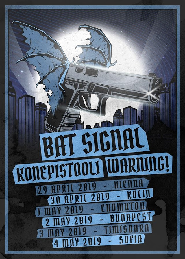 [News] Bat Signal spring tour 2019