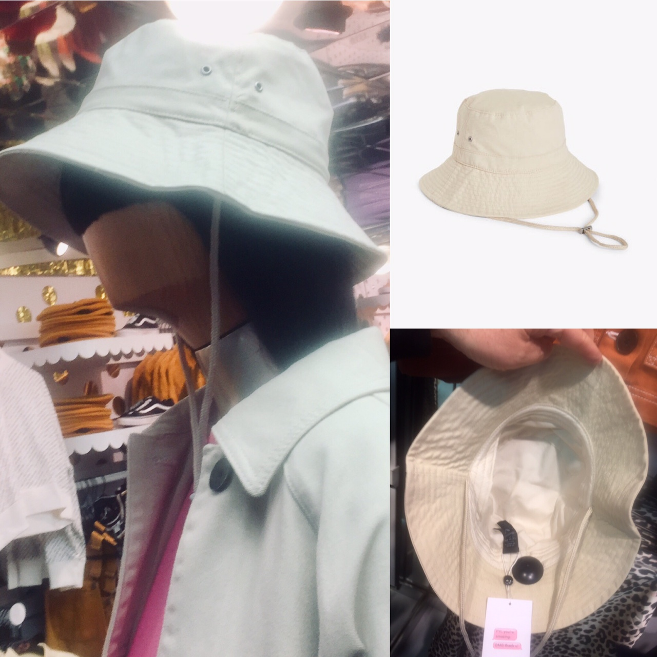 8879c551 MONKI and ARKET stores are showing both classic buckets hats in plaid,  denim to corduroy and also larger buckets (boonies) with chin cords in  canvas.