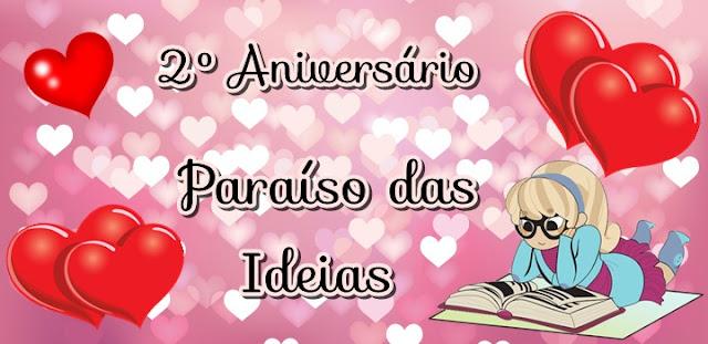 {Sorteio} Aniversário 2 Anos Paraíso das Ideias