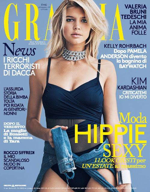 Actress, Model, @  Kelly Rohrbach - Grazia Italia, July 2016