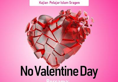 Kajian Pelajar Islam Sragen di Masjid Raya Al Falah | No Valentine Day