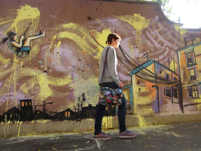 Рисунки на стенах. Alice Pasquini 32