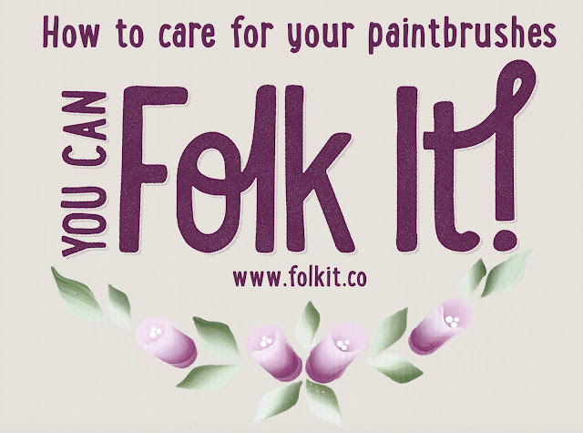 How to care for your paintbrushes
