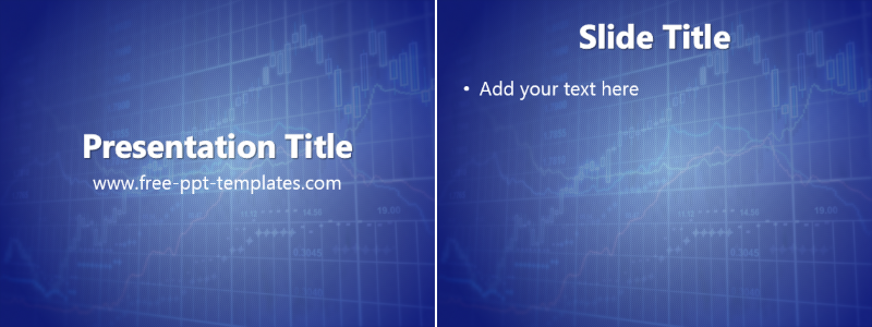 Blue forex template