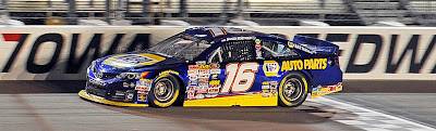 Todd Gilliland - #NASCAR K&N Pro Series East / West Casey's General Stores 150 at Iowa Speedway