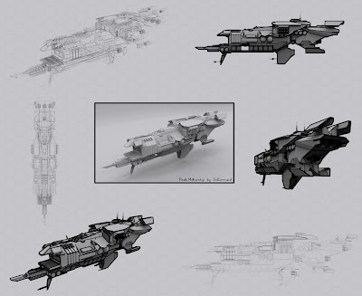 alien, earth, terran, futuristic, dreadnought, titan, sci fi, solcommand, 3d, free, download, low poly, textured, mesh, game ready, space, concept, ship, spaceship, capital ship, destroyer, mothership, cruiser, carrier, navy, military, pirate, civilian, air force, command, bridge, star citizen, robert space industries, original, squadron 42, warship, lantean