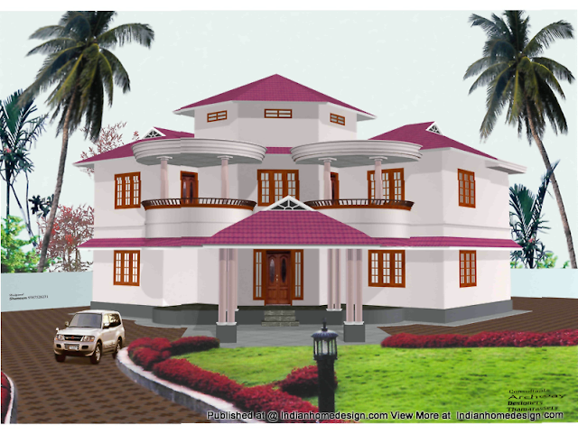 Beautiful photos of Indian Home Exterior Design