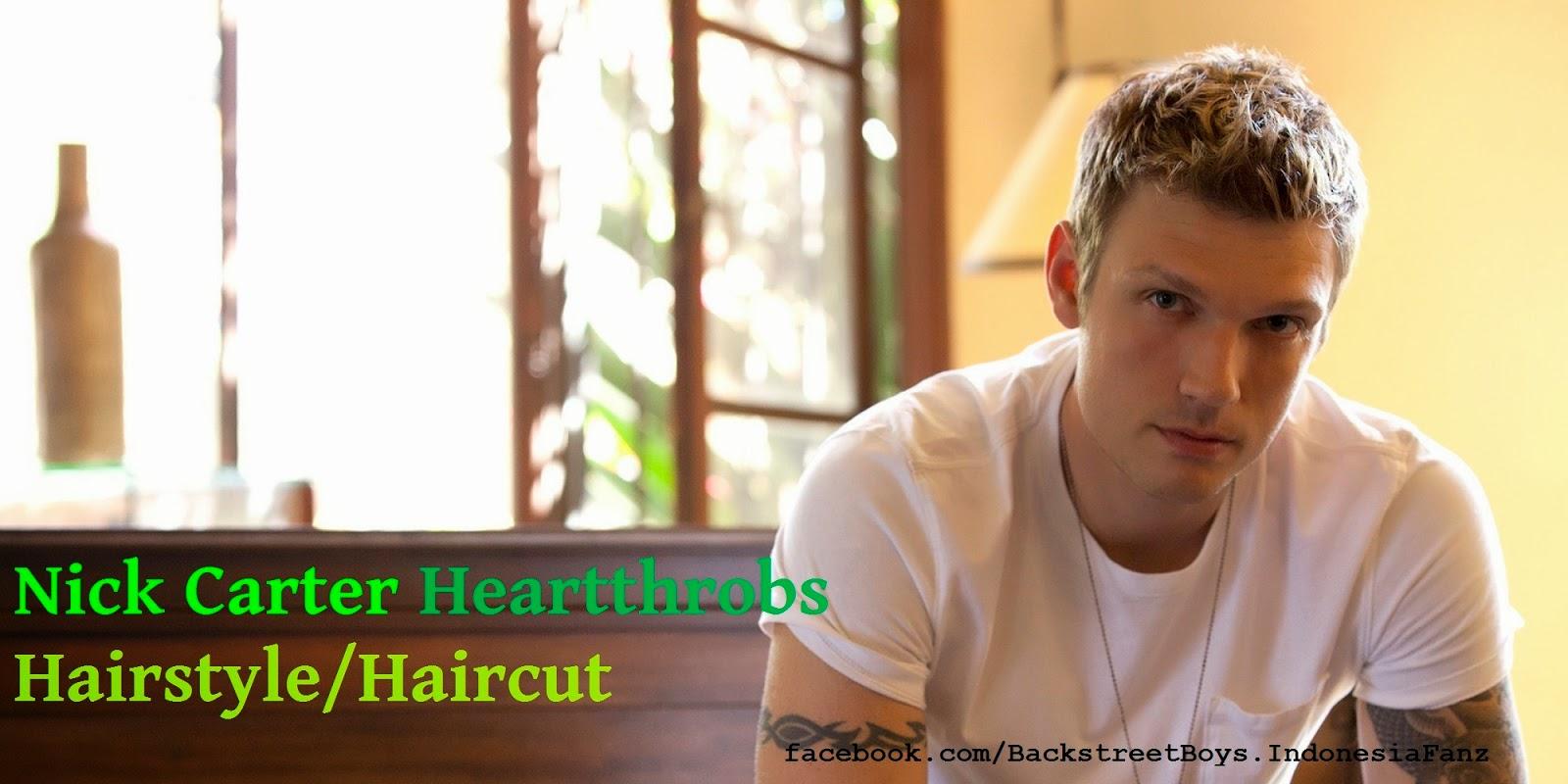 backstreet boys indonesia fanz: nick carter hairstyles