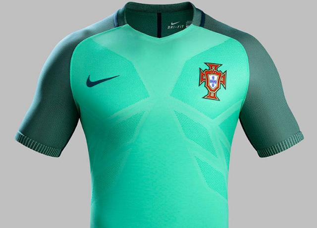 Áo đấu đội tuyển Bồ Đào Nha Euro 2016