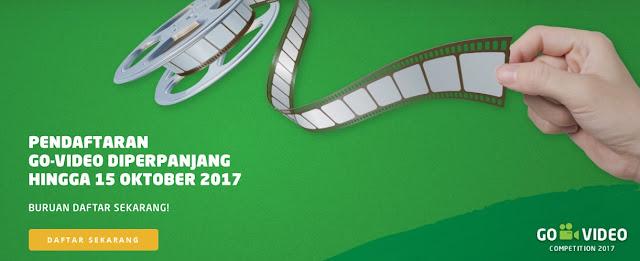 Video Competition Bertajuk GO-VIDEO Dari GO-JEK Berhadiah hingga 800 Juta Diperpanjang 15 Oktober 2017