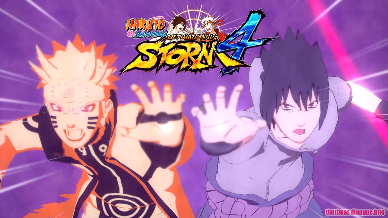 DOWNLOAD GAME NARUTO SHIPPUDEN ULTIMATE NINJA STORM 4 2016 FULL CRACK