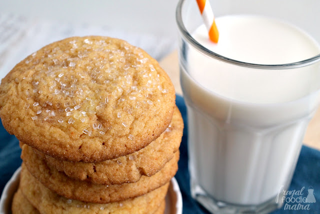 These thick & soft Easy Biscoff Snickerdoodles are sure to quickly become a family favorite.