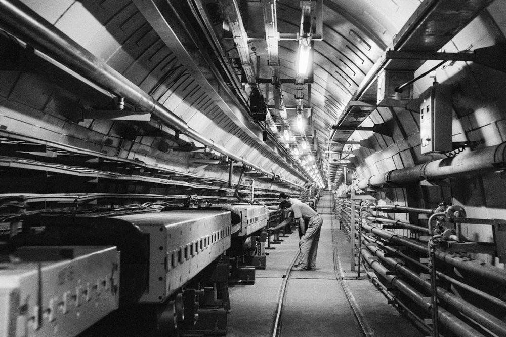 U-70 proton synchrotron at the Institute for High Energy Physics in Protvino