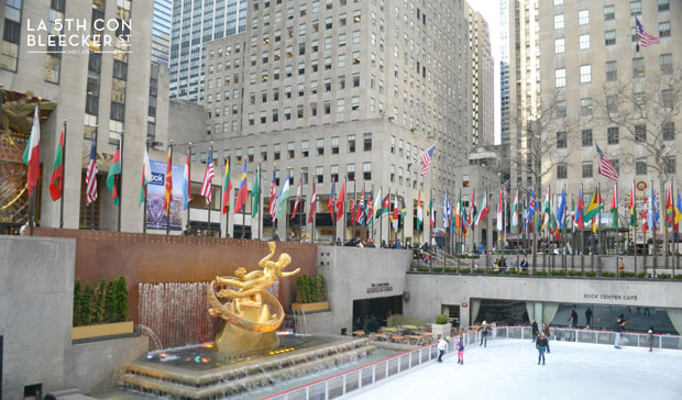 visita imprescindible Rockefeller Center