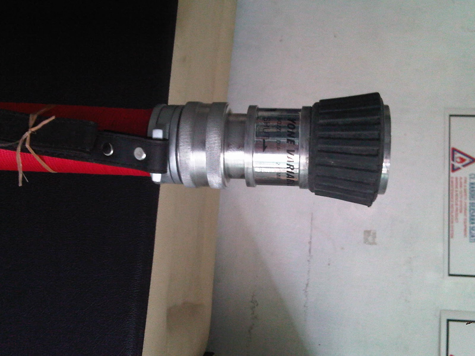 Variable Nozzle spry perlengkapan pemadam kebakaran