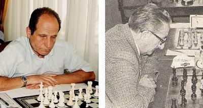 Los ajedrecistas del Club Ajedrez Terrassa Jordi Antigua y Enric Pablo