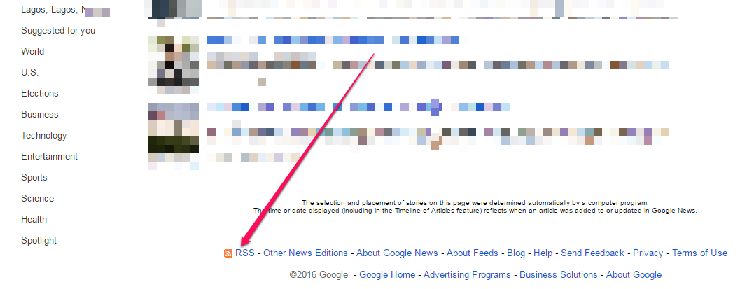 How To Get Google News RSS Feed – OgbongeBlog