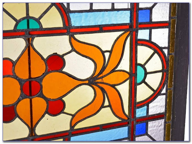 Decorative Victorian Stained GLASS WINDOW Film ideas
