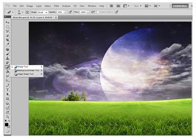 Cara Membuat Foto Fantasy Dengan Photoshop