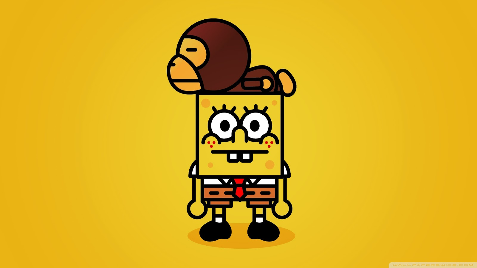 50 Wallpaper Lucu Gambar Spongebob Koleksi Gambar