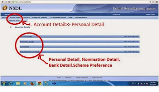 cra nsdl account detail how to know
