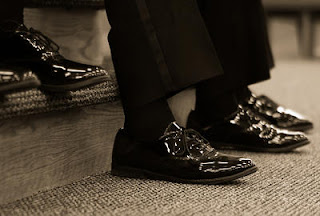 Tuxedo/Formal Patent Leather Shoes