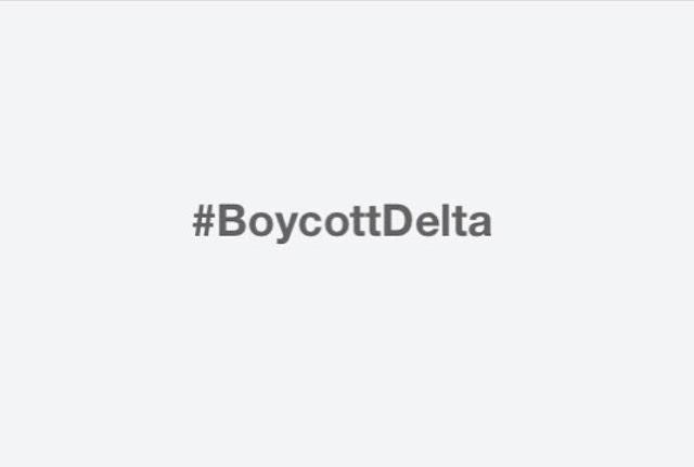 #BoycottDelta