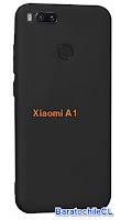 Protector gel Negro Xiaomi A1