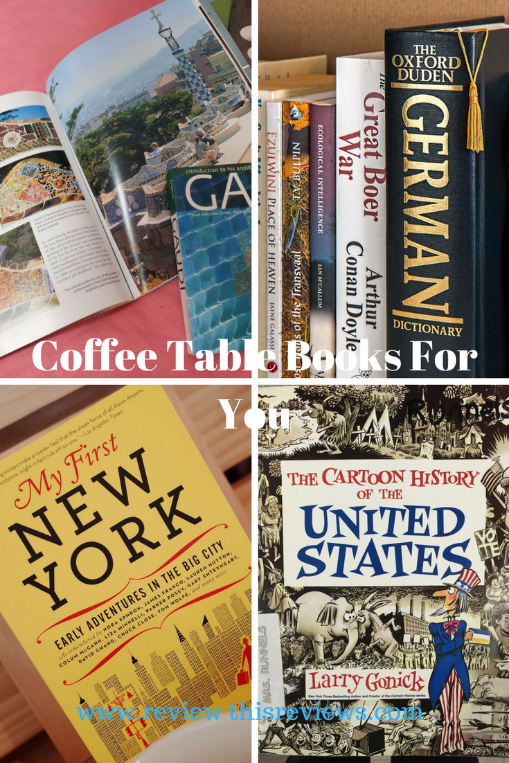 Book lovers day lets review coffee table books for everyone ads by amazon geotapseo Choice Image