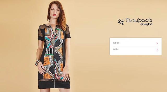 oferta mujer marca Bamboos fashion