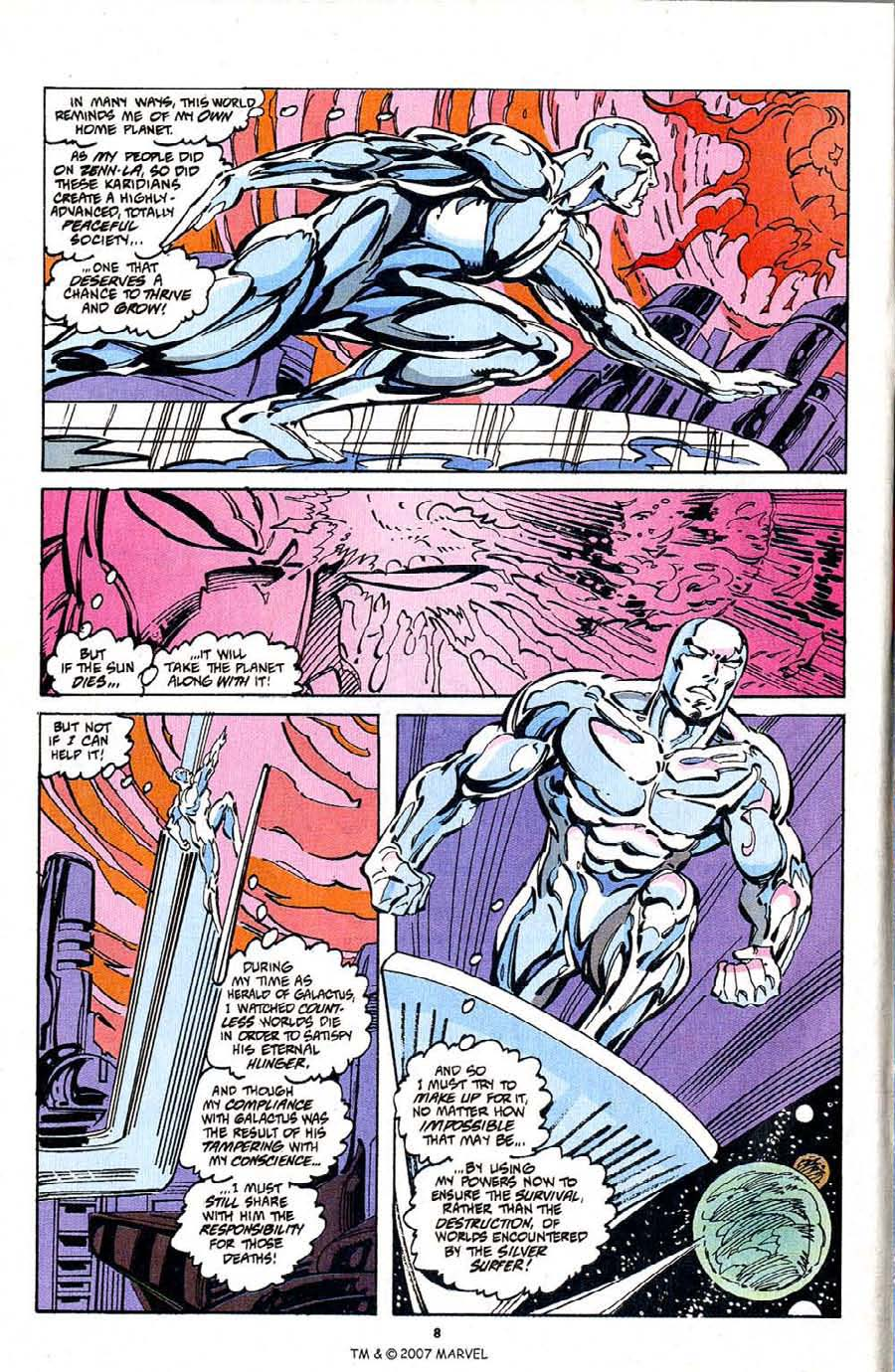 Silver Surfer (1987) Issue #103 #111 - English 10